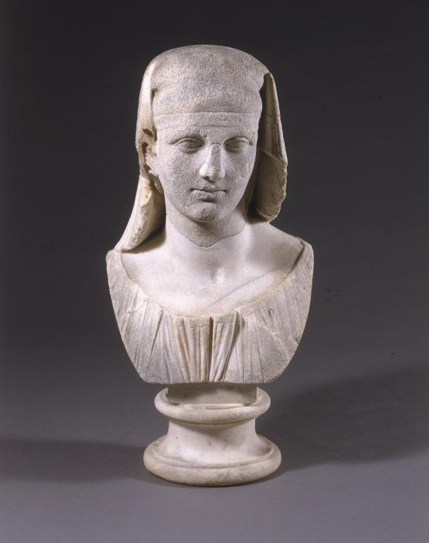 Bust of a Hermaphrodite card