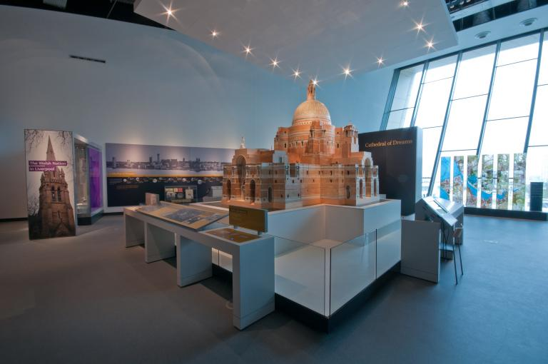 Model of the Liverpool Metropolitan Cathedral of Christ the King card