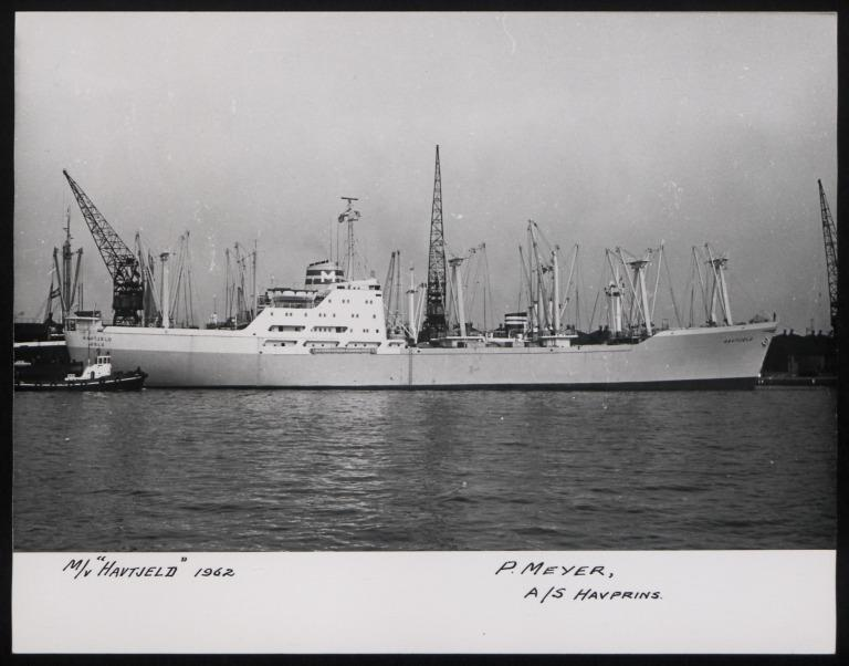 Photograph of Havtjeld, P Meyer card