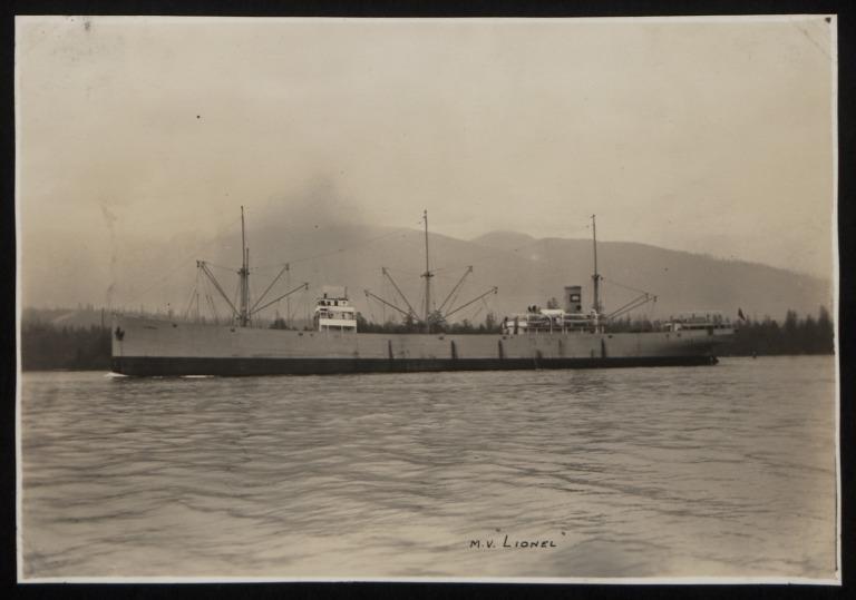 Photograph of Lionel (r/n Aguante), A Mohn card