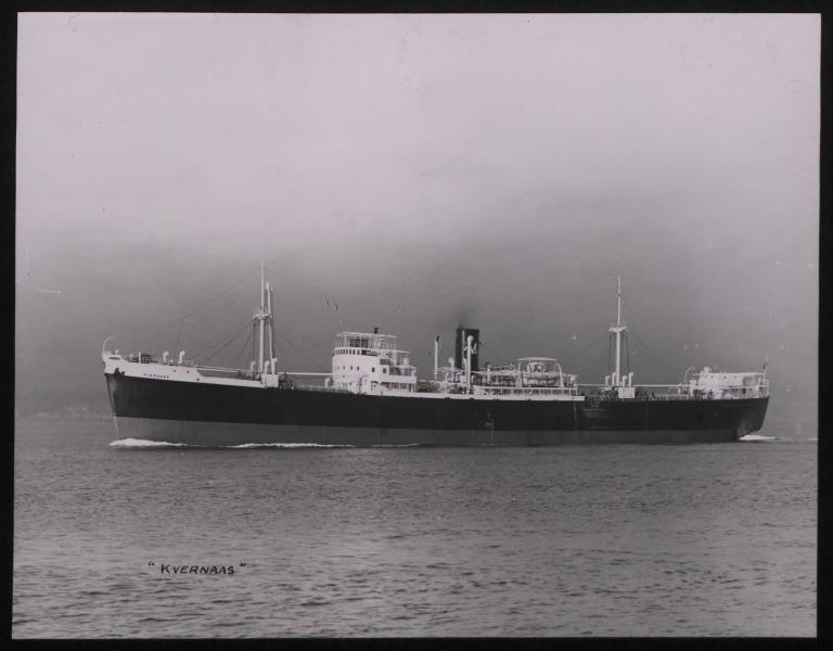 Photograph of Kvernaas, A J Morland card