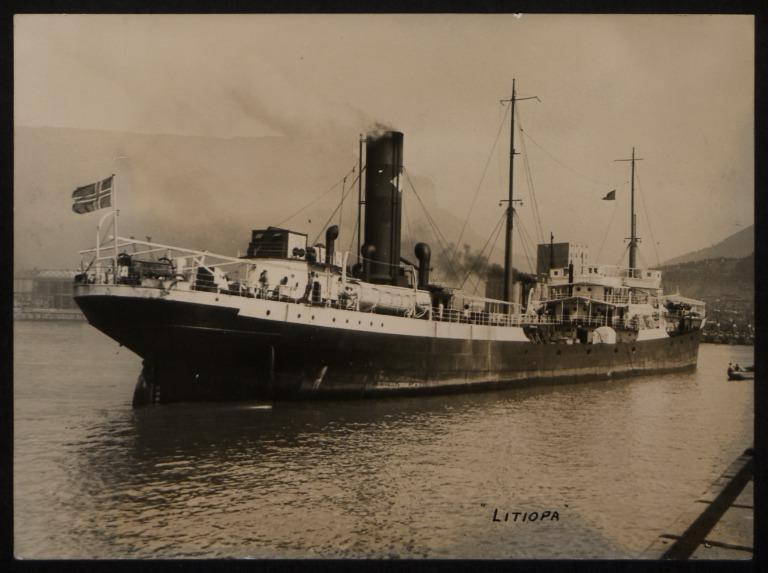 Photograph of Litiopa (ex Dockleaf), M Mosvold card