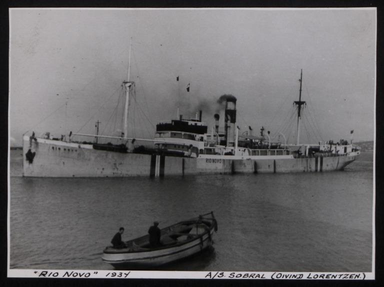 Photograph of Rio Novo, Oivind Lorentzen card