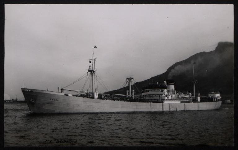 Photograph of Molda, Ludwig Mowinckels card