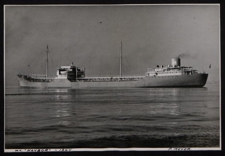 Photograph of Havbor, P Meyer card