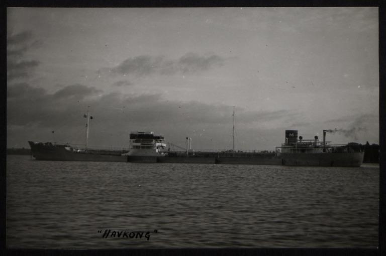 Photograph of Havkong, P Meyer card