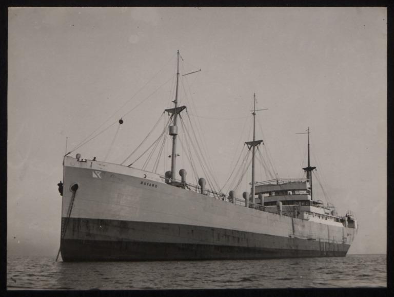 Photograph of Bayard, Fred Olsen card