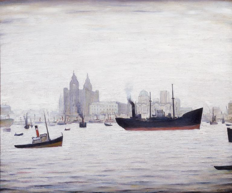 The Liver Building, Liverpool card