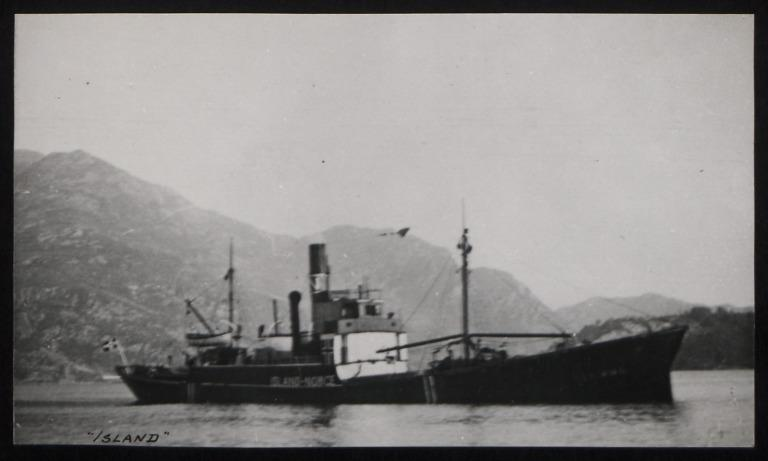 Photograph of Island (ex Stainmann, Fundus, Banton, Kilchattan), F N Nordbo card
