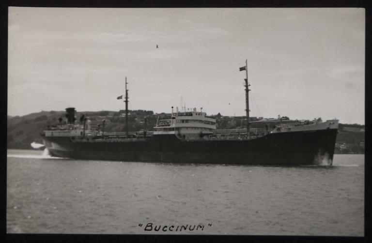 Photograph of Buccinum (ex Fallen Timbers), Carl Olsens Tankreder A/S card
