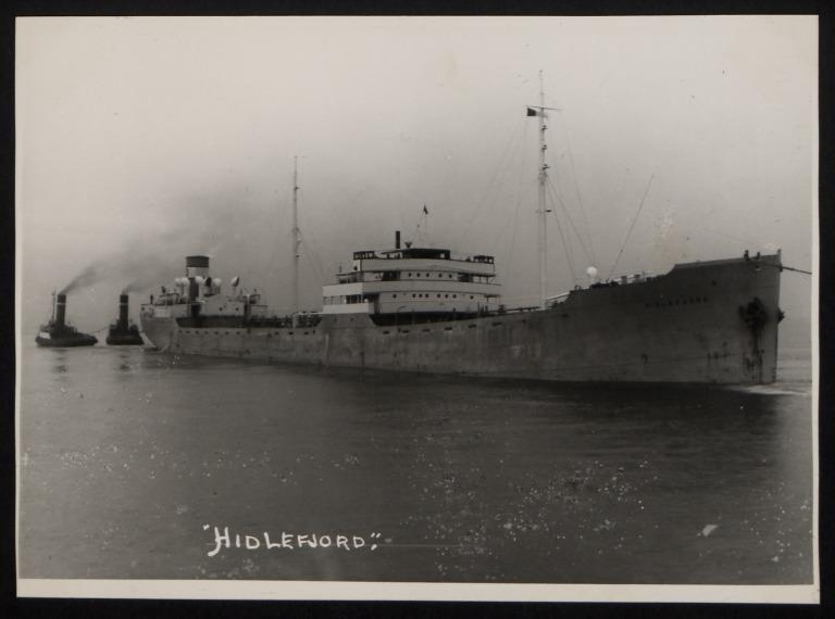 Photograph of Hidlefjord, Kornelius Olsen card