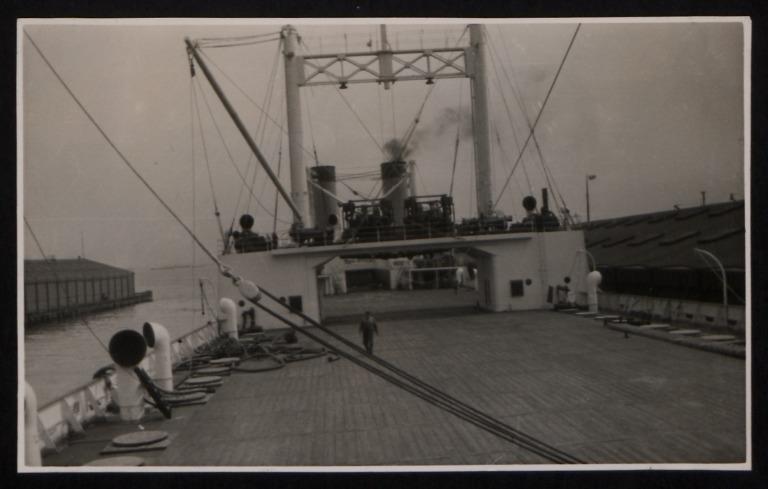 Photograph of Sir James Clark Ross, J Rasmussen and Co card