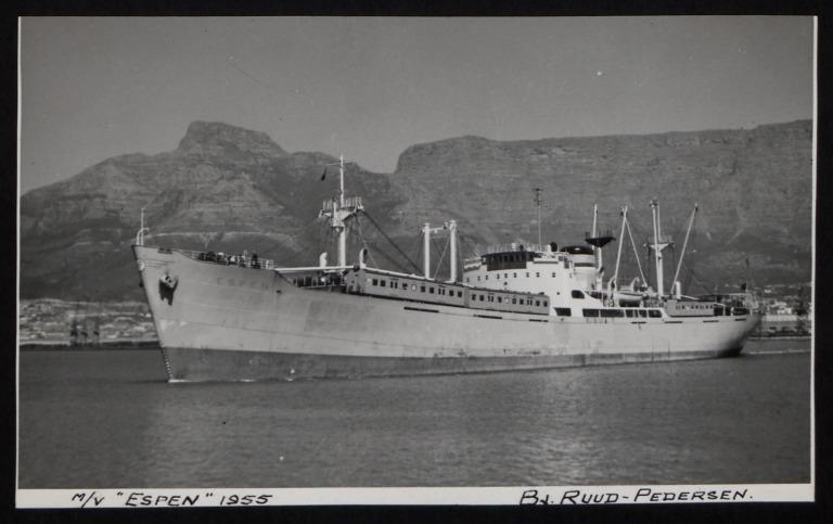 Photograph of Espen, B J Ruud-pedersen card