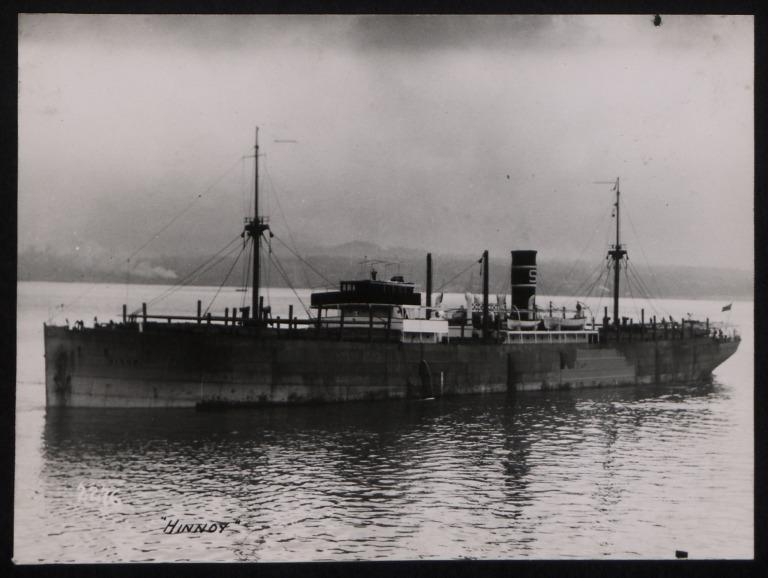 Photograph of Hinnay, E H Samuelsen card
