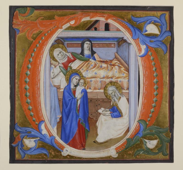 The Birth of St. John the Baptist card