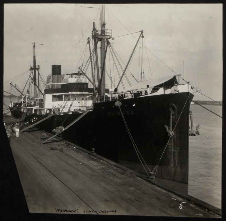 Photograph of Raimund (ex Altair, r/n Norderney), Norddeutscher Lloyd card