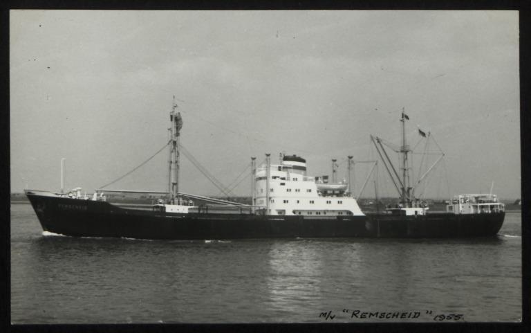 Photograph of Remscheid, Hamburg Amerika Line card