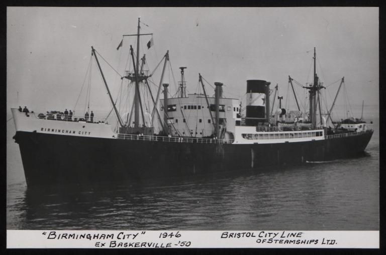 Photograph of Birmingham City, Bristol City Line card
