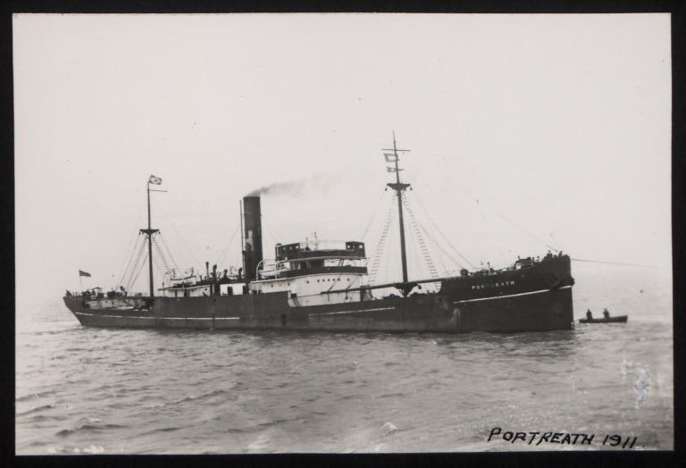 Photograph of Portreath, W E Hinde and Co Ltd card