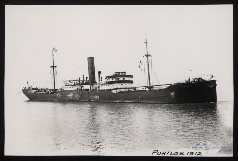 Photograph of Portloe, W E Hinde and Co Ltd card