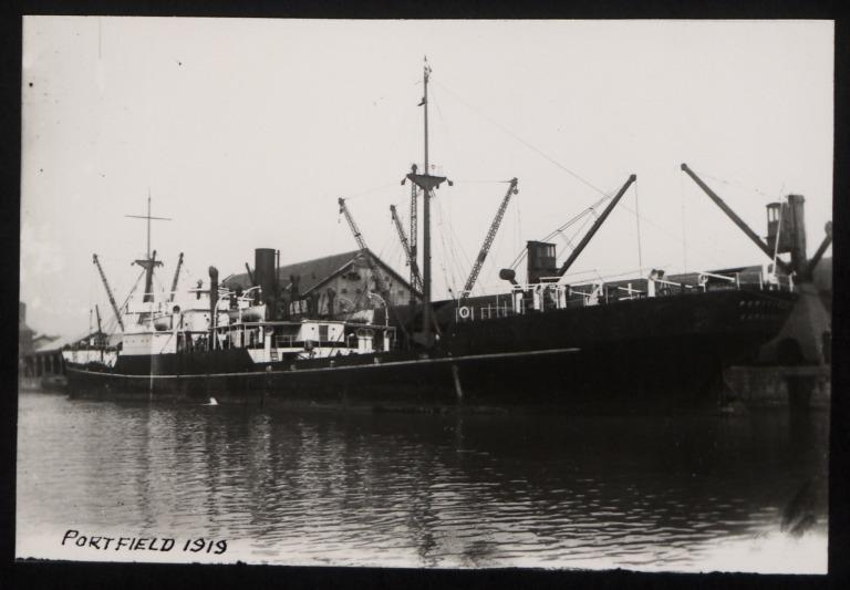 Photograph of Portfield, W E Hinde and Co Ltd card