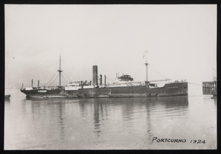 Photograph of Portcurno, W E Hinde and Co Ltd card