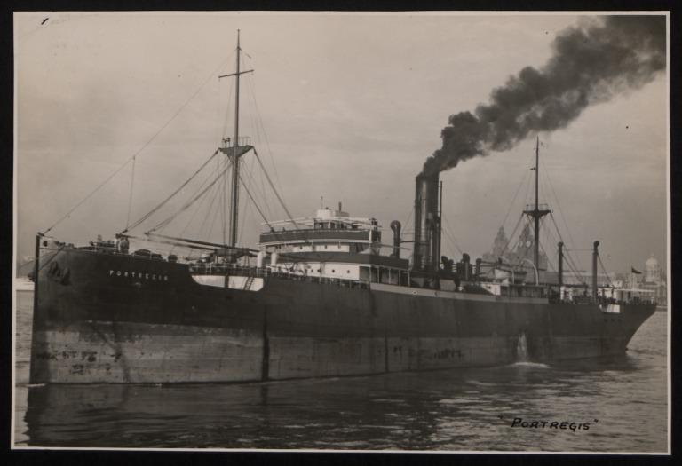 Photograph of Portregis, W E Hinde and Co Ltd card