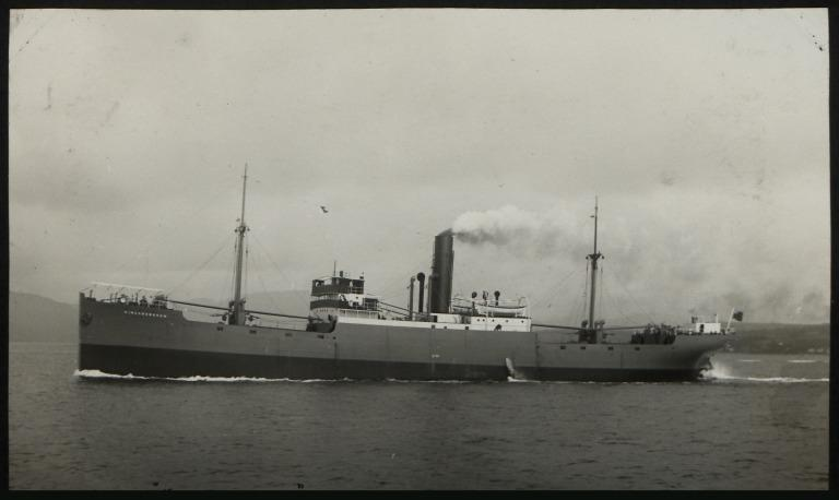 Photograph of Kingsborough, P D Hendry and Sons card