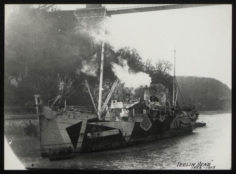 Photograph of Teelin Head, Ulster Steamship Company card