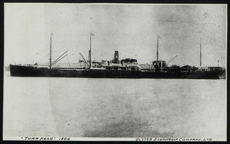 Photograph of Torr Head, Ulster Steamship Company card