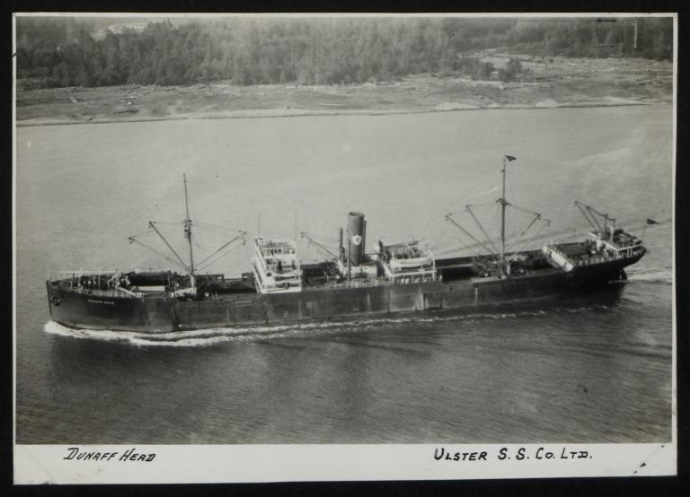 Photograph of Dunaff Head, Ulster Steamship Company card