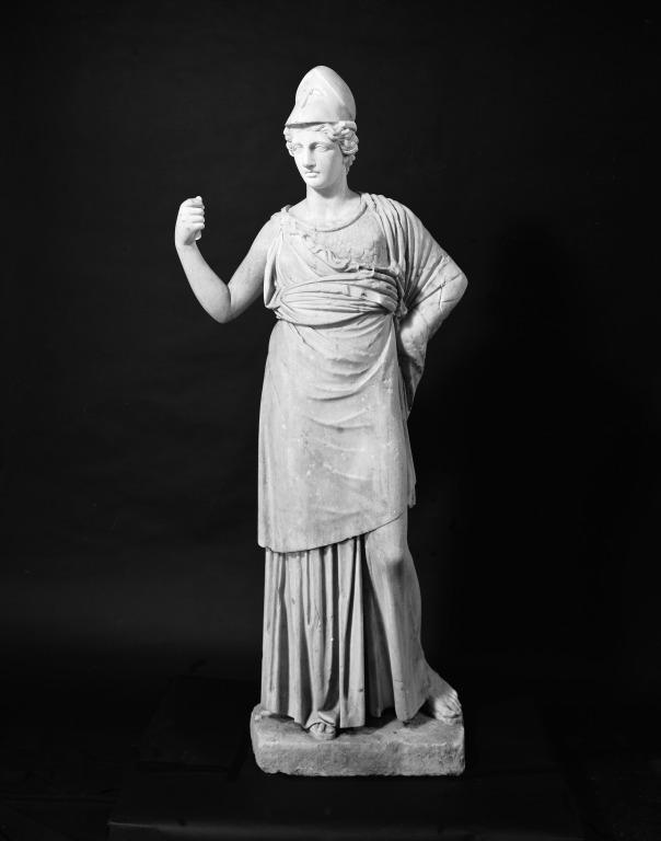 Statue of Athena card
