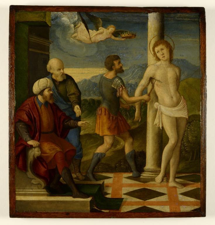 The Martyrdom of Saint Blaise card