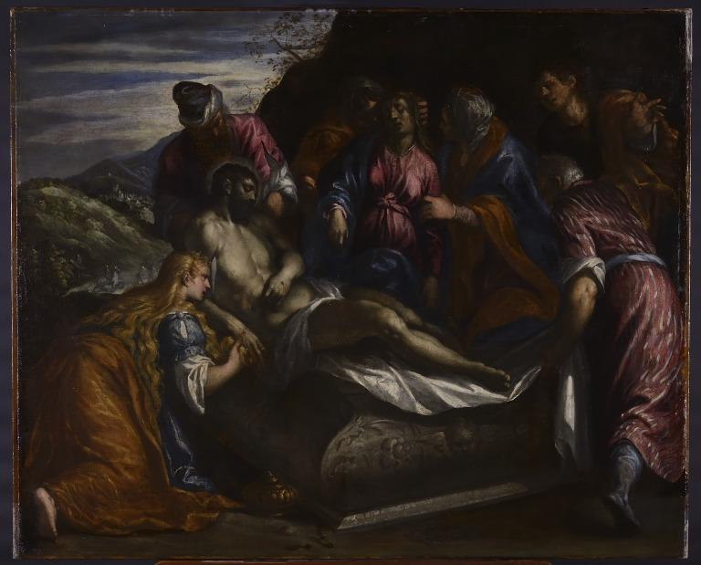 The Entombment of Christ card