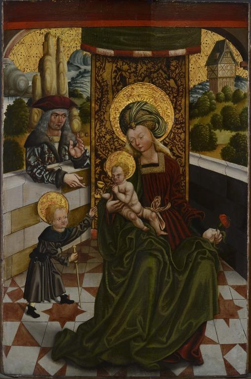 The Family of St. Elizabeth card