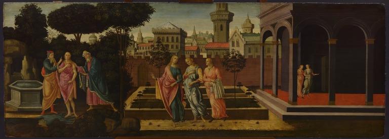 Susannah and the Elders card