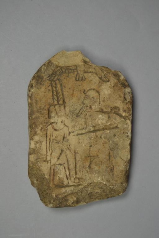 Figured Ostracon (Forgery) card