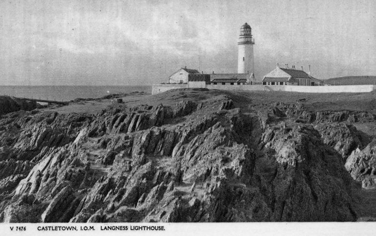 Photograph of Langness Lighthouse, Isle of Man card