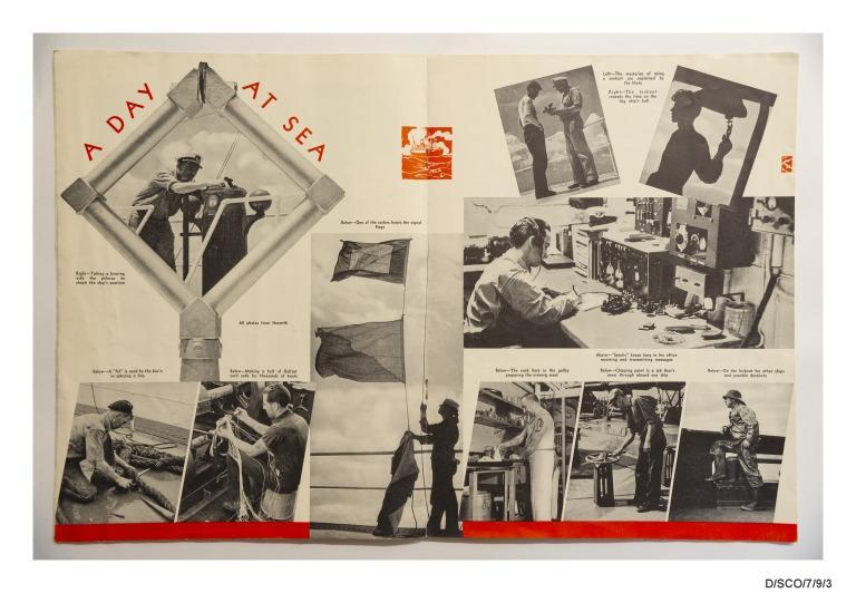 Career papers of Dorothy Scobie, stewardess. card