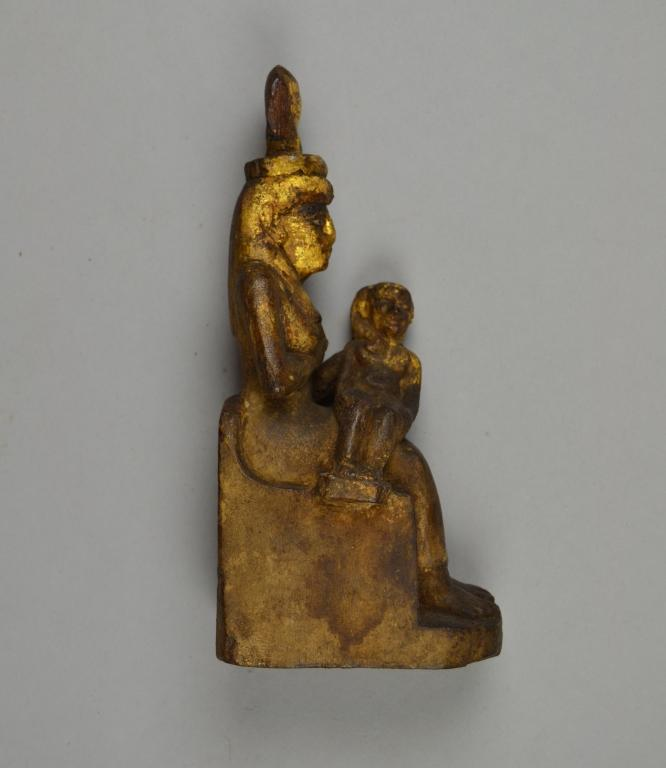 Figure of Isis with Horus the Child card