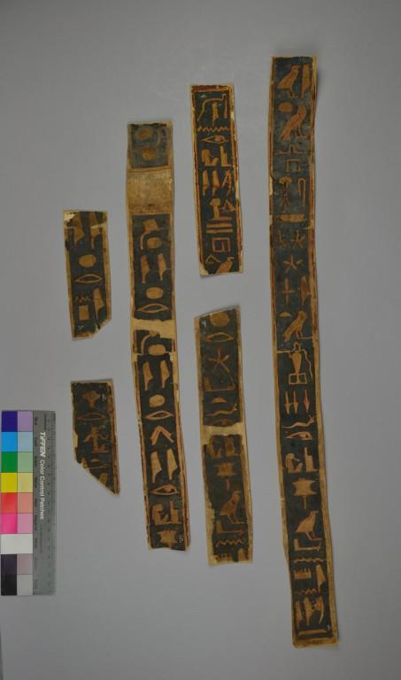 Inscribed Strip of Papyrus card