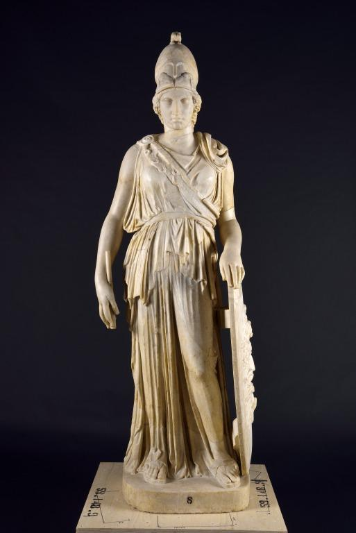 Statue of Athena card