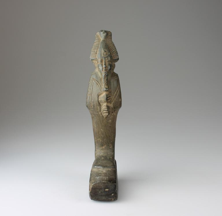 Statue of Osiris card