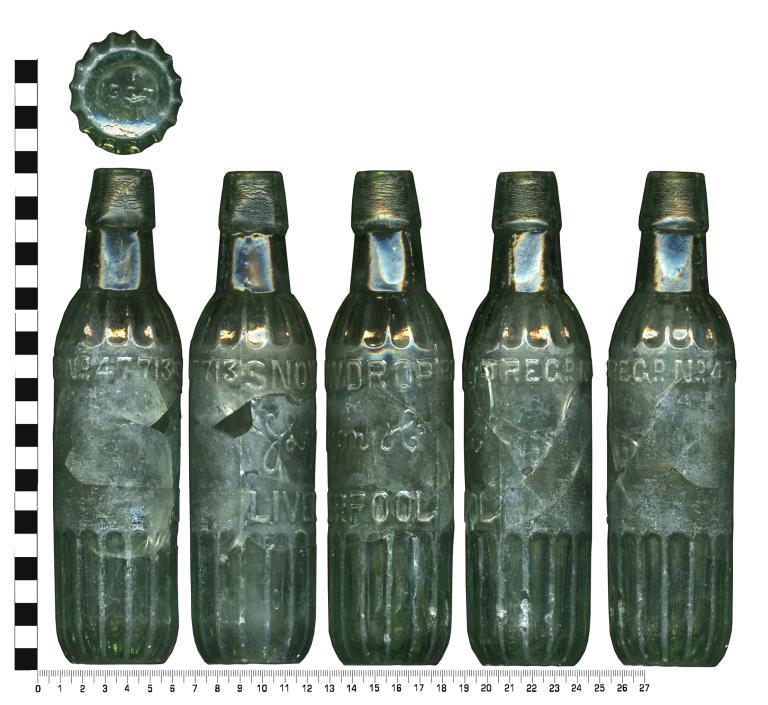 Glass; Bottle card