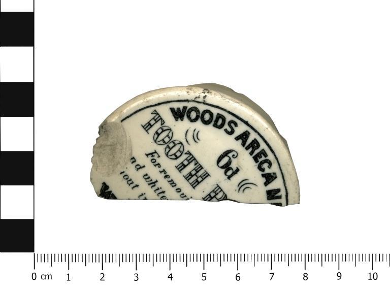 Pottery; White Stoneware card