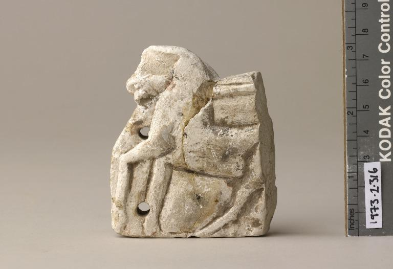 Horse and Chariot Figure card