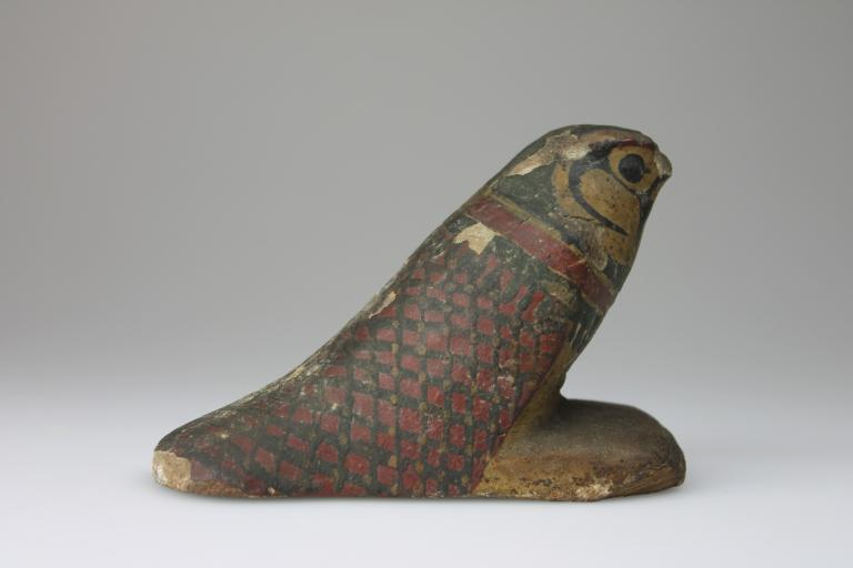 Falcon Figurine card