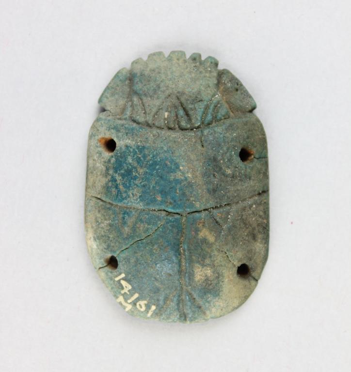 Funerary Scarab card
