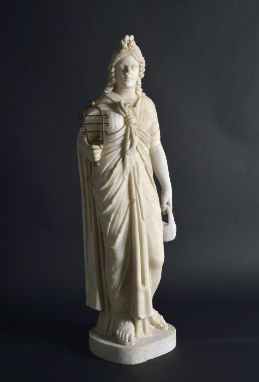 Statuette of Isis card