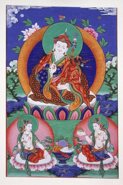 Thangka of Padma Sambhava card